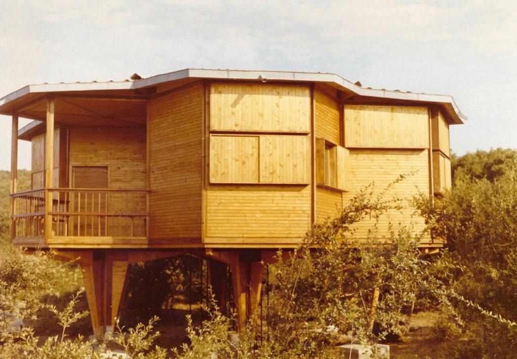 Casa Esagono, Baratti, 1957