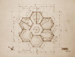Casa Esagono tra le Architetture più significative del secondo Novecento